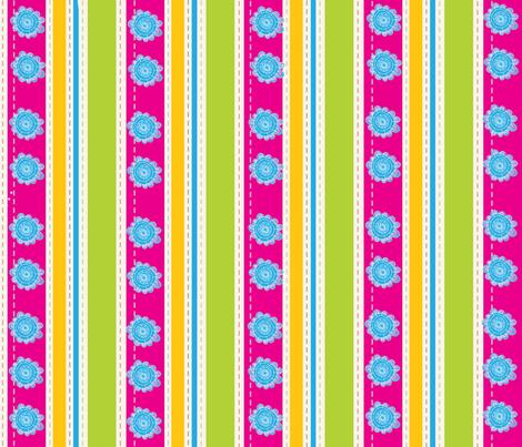 EGGCITED_SASSY_STRIPES_005 fabric by deeniespoonflower on Spoonflower - custom fabric