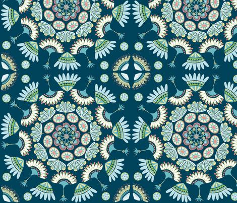 gypsy_midnight fabric by antoniamanda on Spoonflower - custom fabric