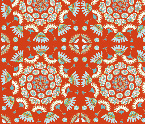gypsy_glow fabric by antoniamanda on Spoonflower - custom fabric
