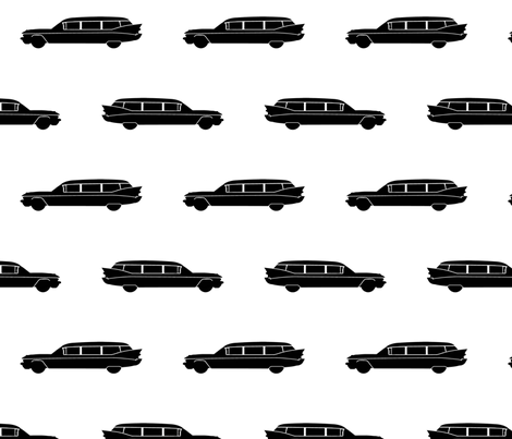 Hearse fabric by slickandhisruin on Spoonflower - custom fabric