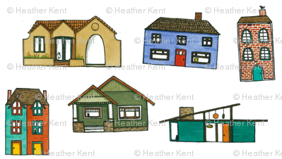 Little Houses - House Fabric