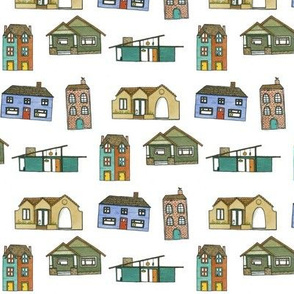 Little Houses - House Fabric