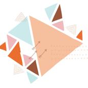 Triangle Arrow Print