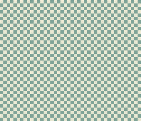 Sarah Wilson Blue Checks fabric by lana_gordon_rast_ on Spoonflower - custom fabric