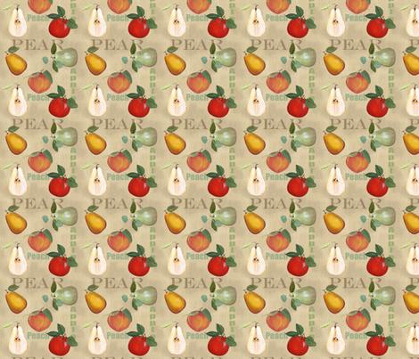 Sarah Wilson Fruit fabric by lana_gordon_rast_ on Spoonflower - custom fabric