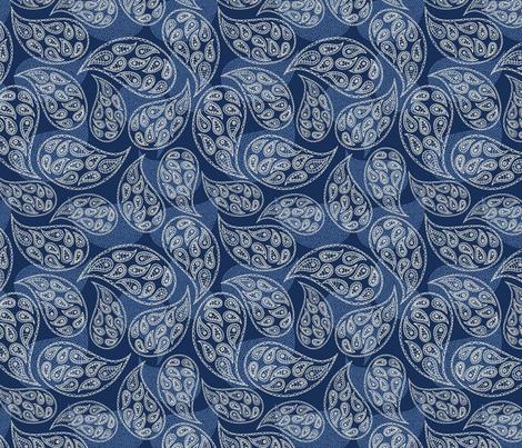Paisley Style fabric by dinaramay on Spoonflower - custom fabric