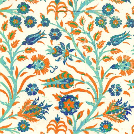 Islamic Blockprint 1b fabric by muhlenkott on Spoonflower - custom fabric