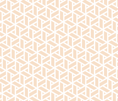 sankaku solid in pearl fabric by chantae on Spoonflower - custom fabric