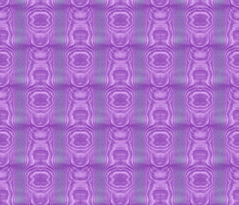Moire Stripe ~ Periwinkle, Lavender and Purple fabric by peacoquettedesigns on Spoonflower - custom fabric