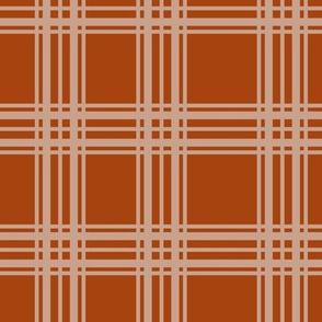 plaid orange marmelade