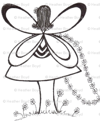 Pixie's Alibi White Fairy-Half Drop