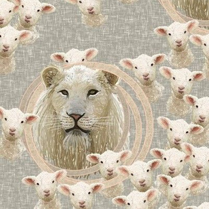 Spring lambs and lions by Su_G