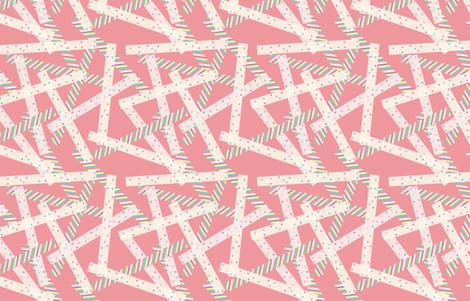Washi [Pink] fabric by lydia_meiying on Spoonflower - custom fabric