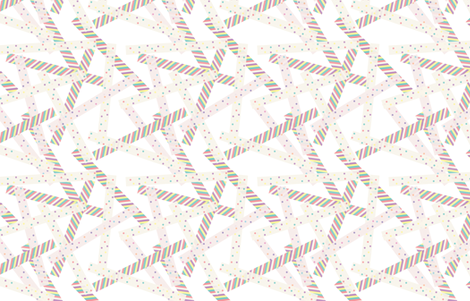 Washi [White] fabric by lydia_meiying on Spoonflower - custom fabric