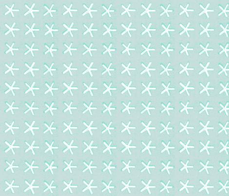 carolina star - sea glass fabric by kerrysteele on Spoonflower - custom fabric