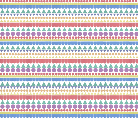 Shapes fabric by lydia_meiying on Spoonflower - custom fabric