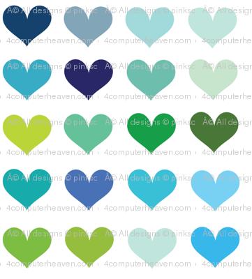 Cool Hearts! - © PinkSodaPop 4ComputerHeaven.com