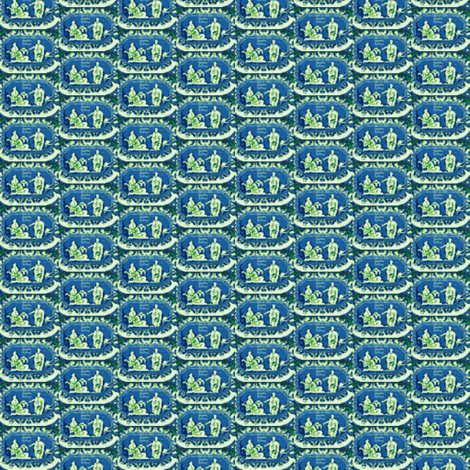 Hermes and Calypso fabric by amyvail on Spoonflower - custom fabric
