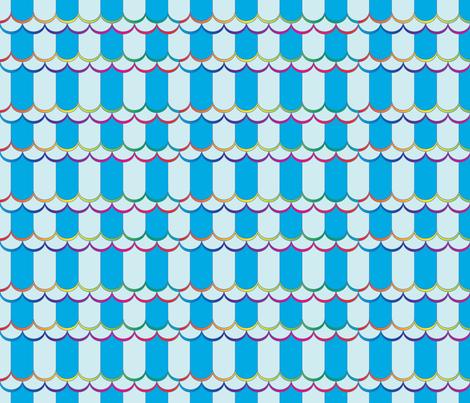 rainbow water fabric by motyka on Spoonflower - custom fabric