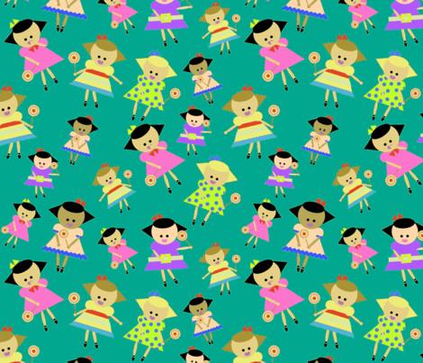 sweeties fabric by mcuetara on Spoonflower - custom fabric