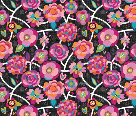 Road Less travelled fabric by cynthiafrenette on Spoonflower - custom fabric