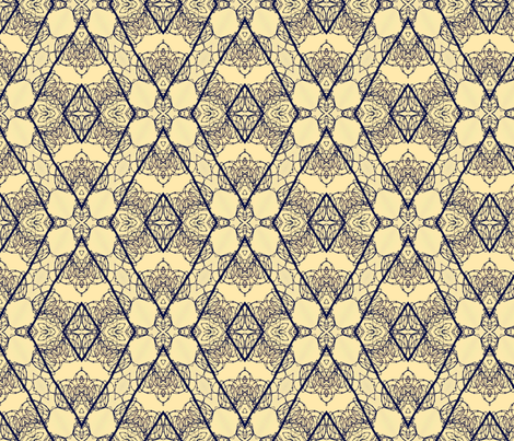 Concertina Diamonds fabric by relative_of_otis on Spoonflower - custom fabric