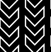 Chevron_Tracks_LARGE_Black & White Colorway