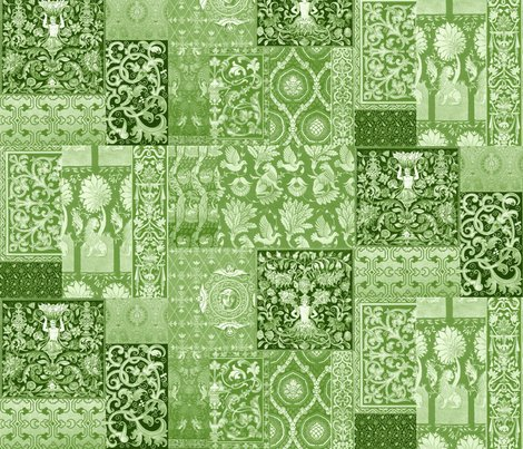 Rmedieval_cheater_quilt_apple_green_and_white_shop_preview