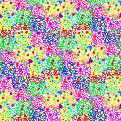 Cellular Abstract fabric by ravynscache on Spoonflower - custom fabric