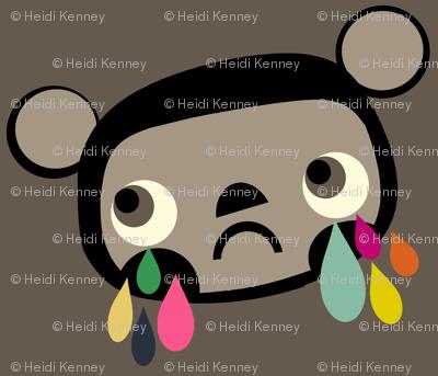 Sad Bear Face