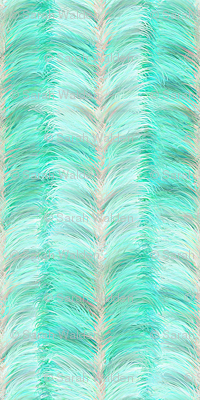 The Feathered Stripe ~ Blue