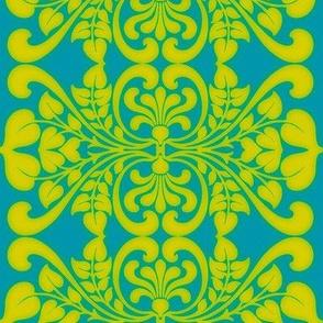 Art Nouveau50-green/blue