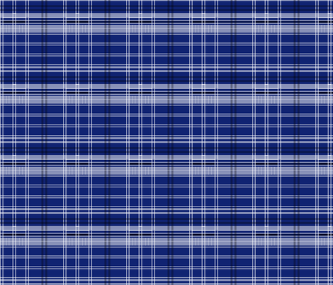 Blue Box Plaid 4 v2 fabric by morrigoon on Spoonflower - custom fabric