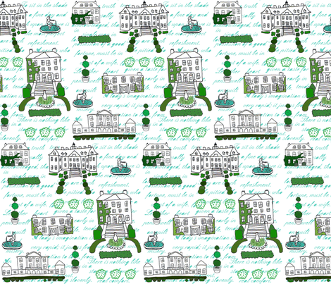 Jane Austen fabric by graceful on Spoonflower - custom fabric