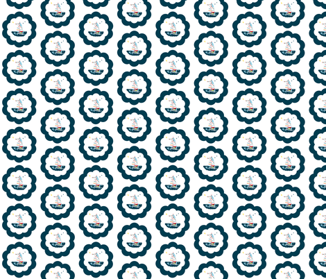 The_Scallop_Sea fabric by karenharveycox on Spoonflower - custom fabric
