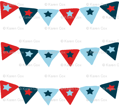 A nautical Bunting