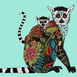 lemur love pale mint