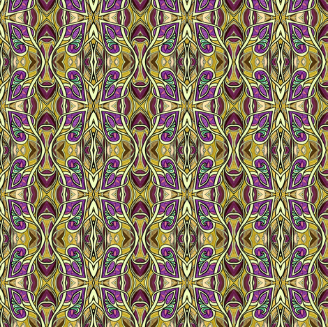 Spades and Beanpole Dance fabric by edsel2084 on Spoonflower - custom fabric
