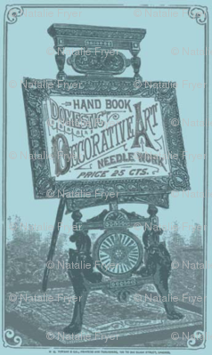 Needle Works Vintage Sign