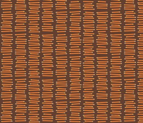 Pencils fabric by laurawilson on Spoonflower - custom fabric