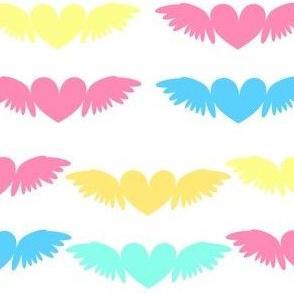 Heart Wings! - Beachy Vibes  - © PinkSodaPop 4ComputerHeaven.com