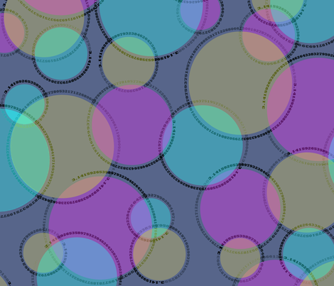 cutie-pi (jazz) fabric by weavingmajor on Spoonflower - custom fabric
