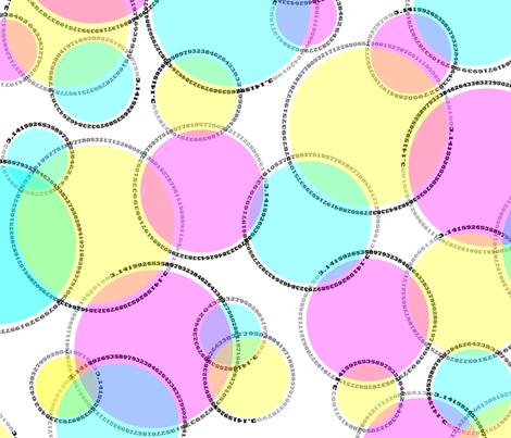 Cutie-pi polka dots fabric by weavingmajor on Spoonflower - custom fabric