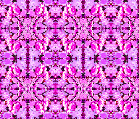 Blossoms In Pink fabric by hrhsf-designs on Spoonflower - custom fabric