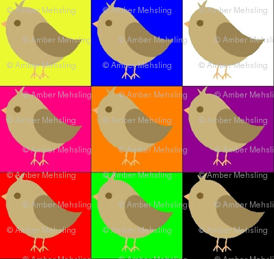 Pop art warhol chicks