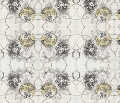 Tanabe Tiles fabric by prettywhitepaintings on Spoonflower - custom fabric