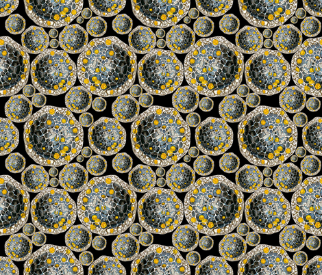 Haeckel Revival fabric by whimzwhirled on Spoonflower - custom fabric