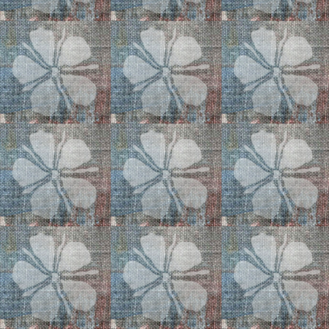 Painted Daisy fabric by materialsgirl on Spoonflower - custom fabric