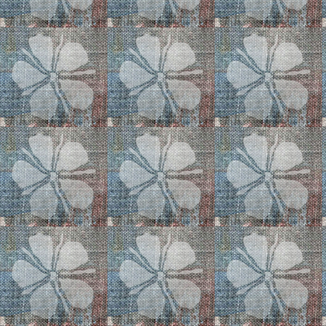 Painted Daisy - checkered, multicolor fabric by materialsgirl on Spoonflower - custom fabric