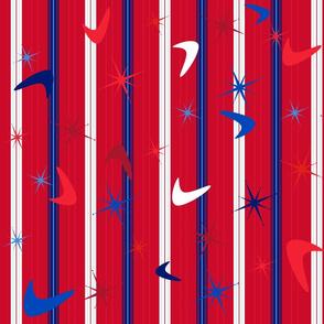 Retro Diner - Patriotic